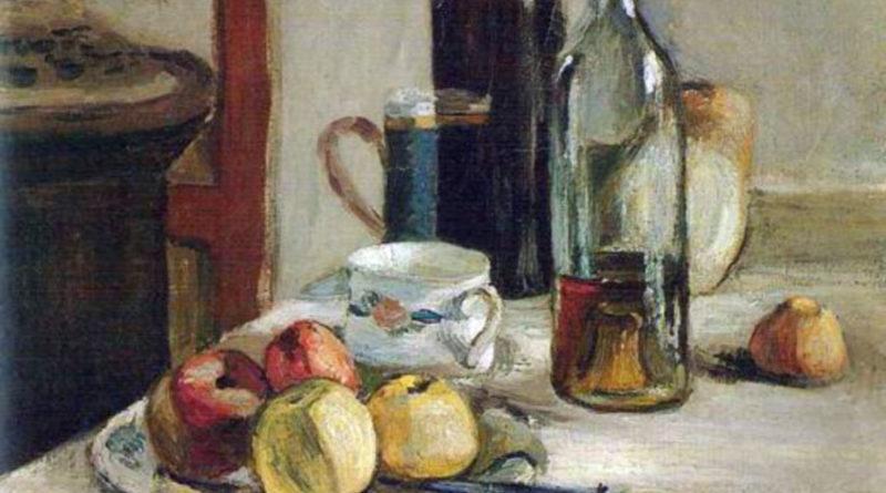 Natura morta con due bottiglie - Matisse