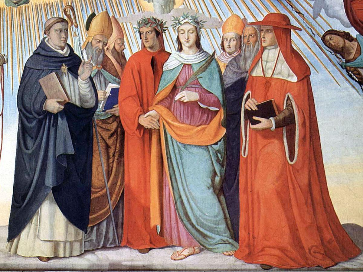 Paradiso - Canto X (Dante, La Divina Commedia)