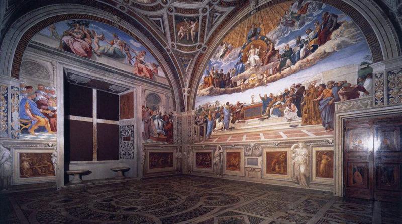 Stanze Vaticane - Stanza della segnatura - Raffaello