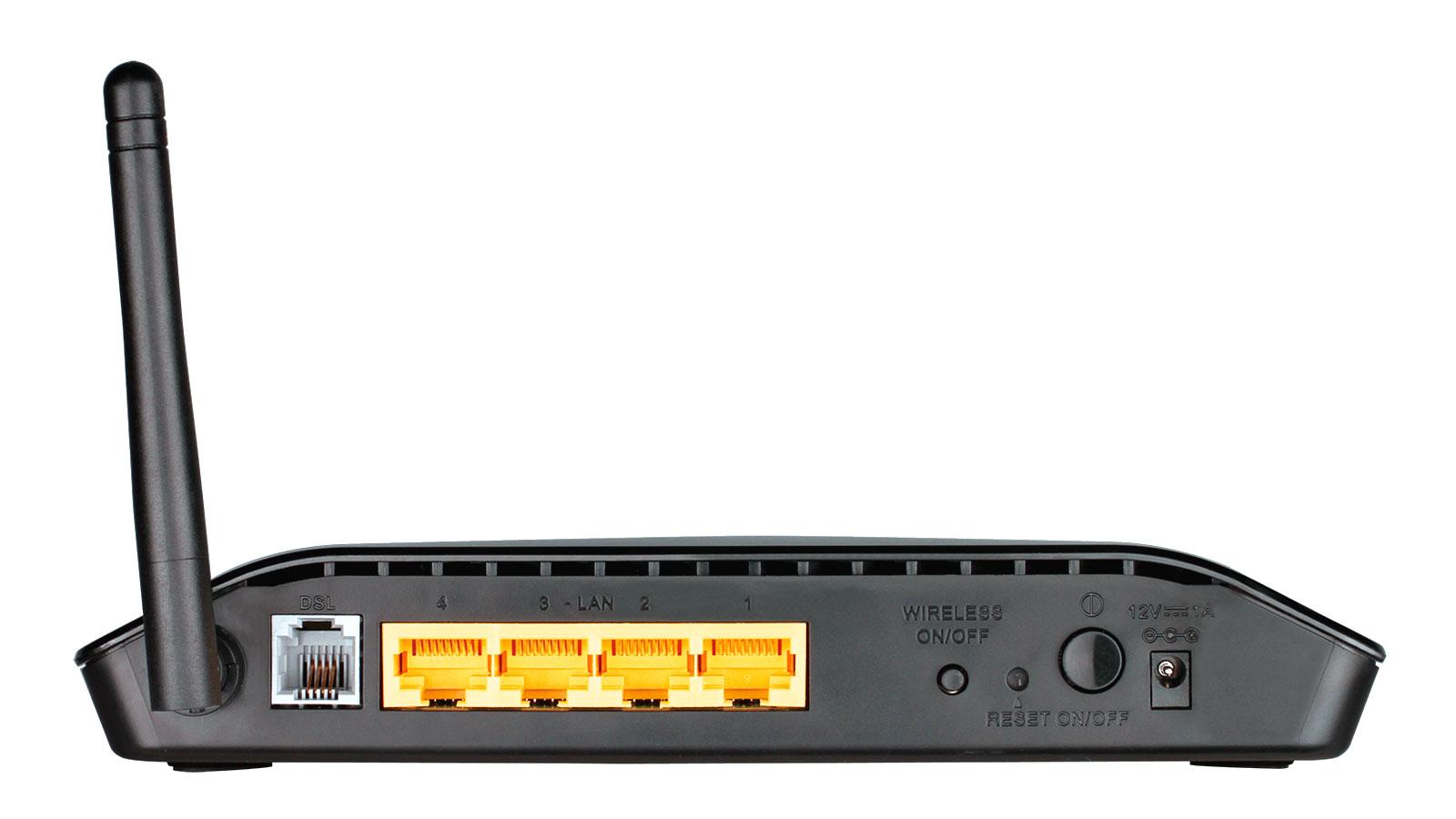 Foto di un Modem Router Wi-Fi