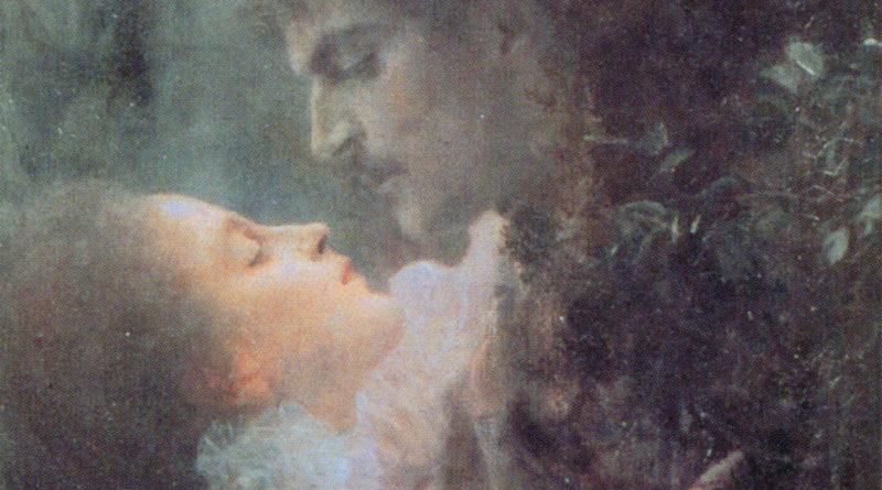 Amore - Klimt - dettaglio volti centrali