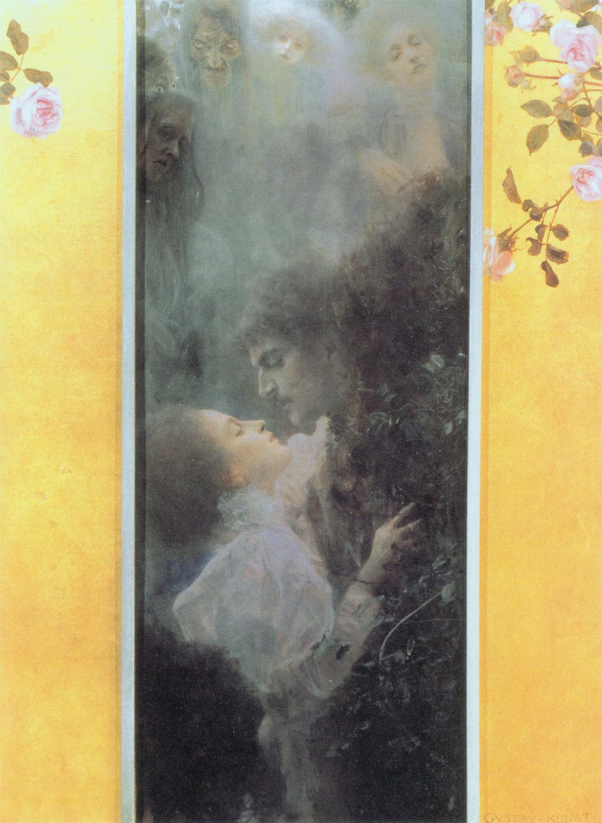 Amore (1895, Gustav Klimt)
