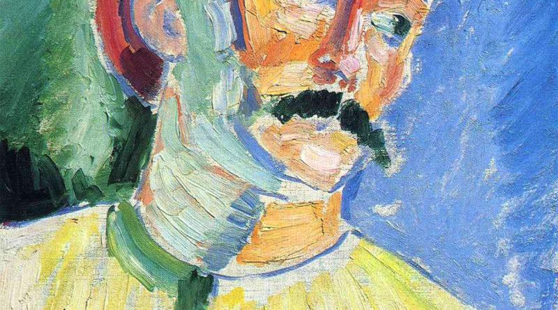André Derain ritratto da Henri Matisse