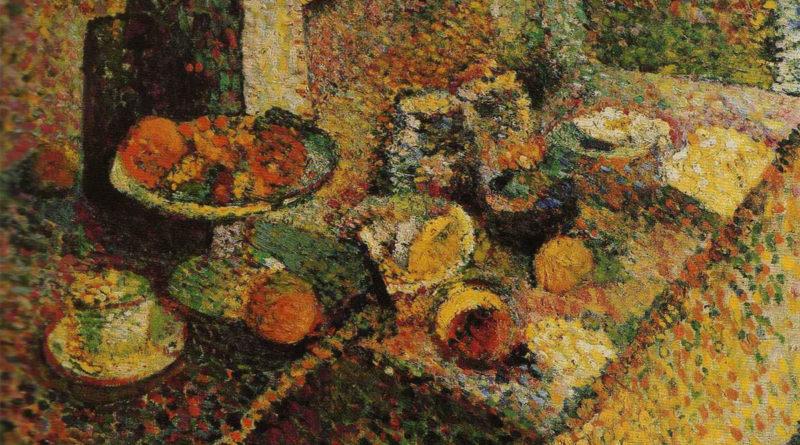 Buffet e tavolo - Matisse 1898