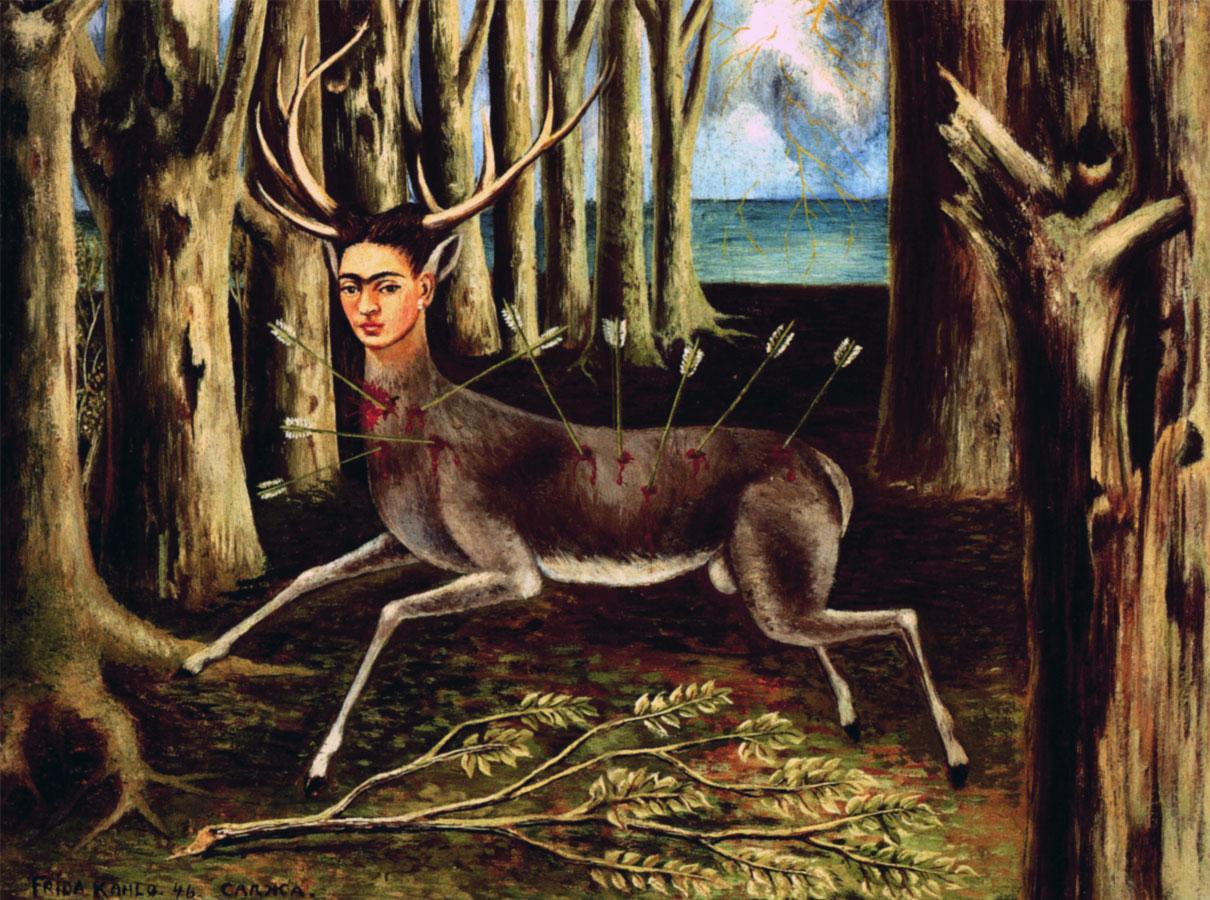 Frida Kahlo, Cervo ferito (1946)