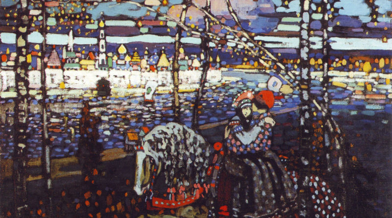 Coppia a cavallo - Kandinsky (1906)