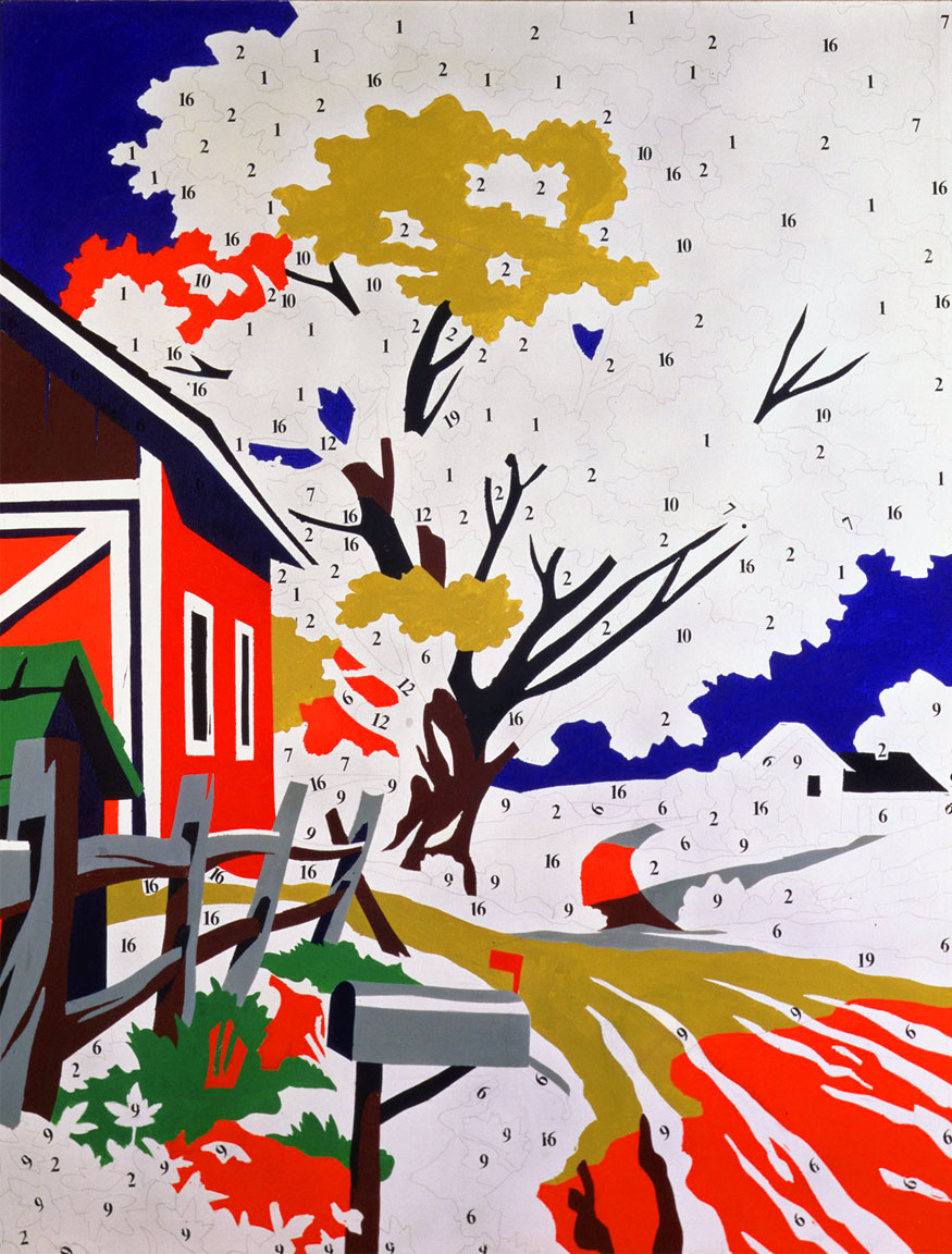 Andy Warhol: Do it Yourself (Landscape)