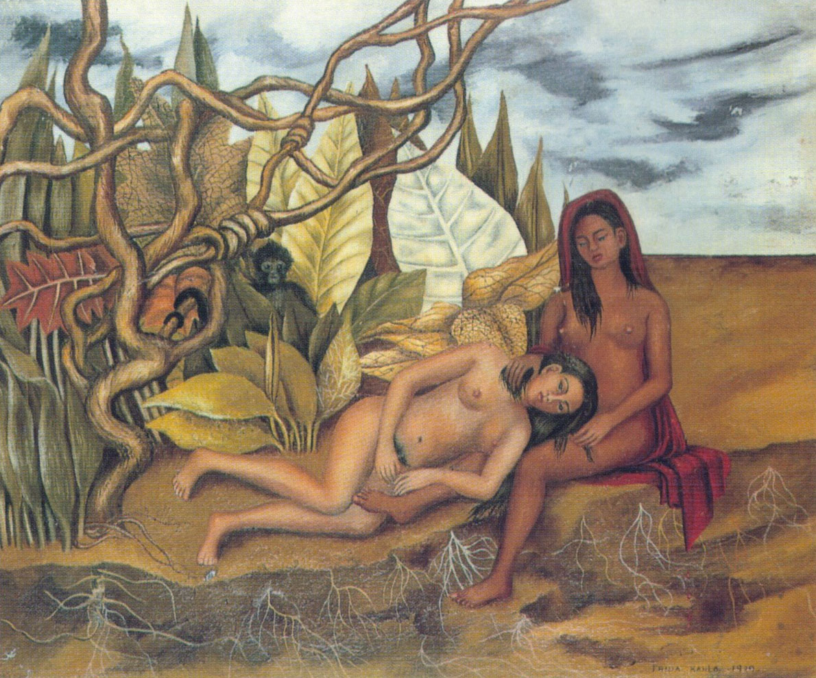 Due nudi nel bosco - Frida Kahlo - 1939
