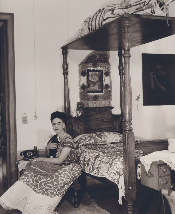 Una foto di Frida Kahlo