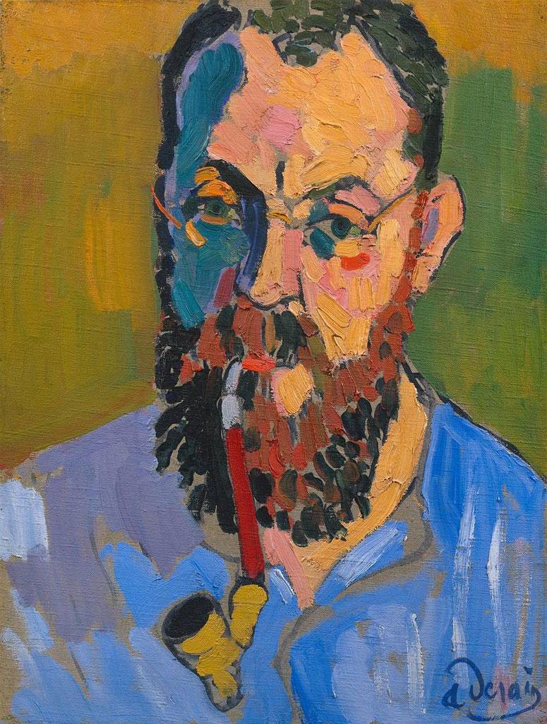 Ritratto di Henri Matisse (realizzato da André Derain nel 1905)