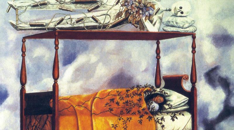 Il Sogno - Il Letto - Frida Kahlo