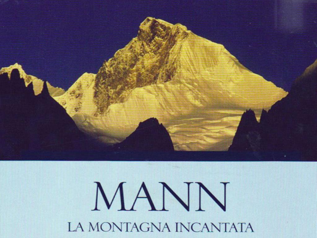 La montagna incantata (Thomas Mann) - Immagine tratta da una copertina in lingua italiana