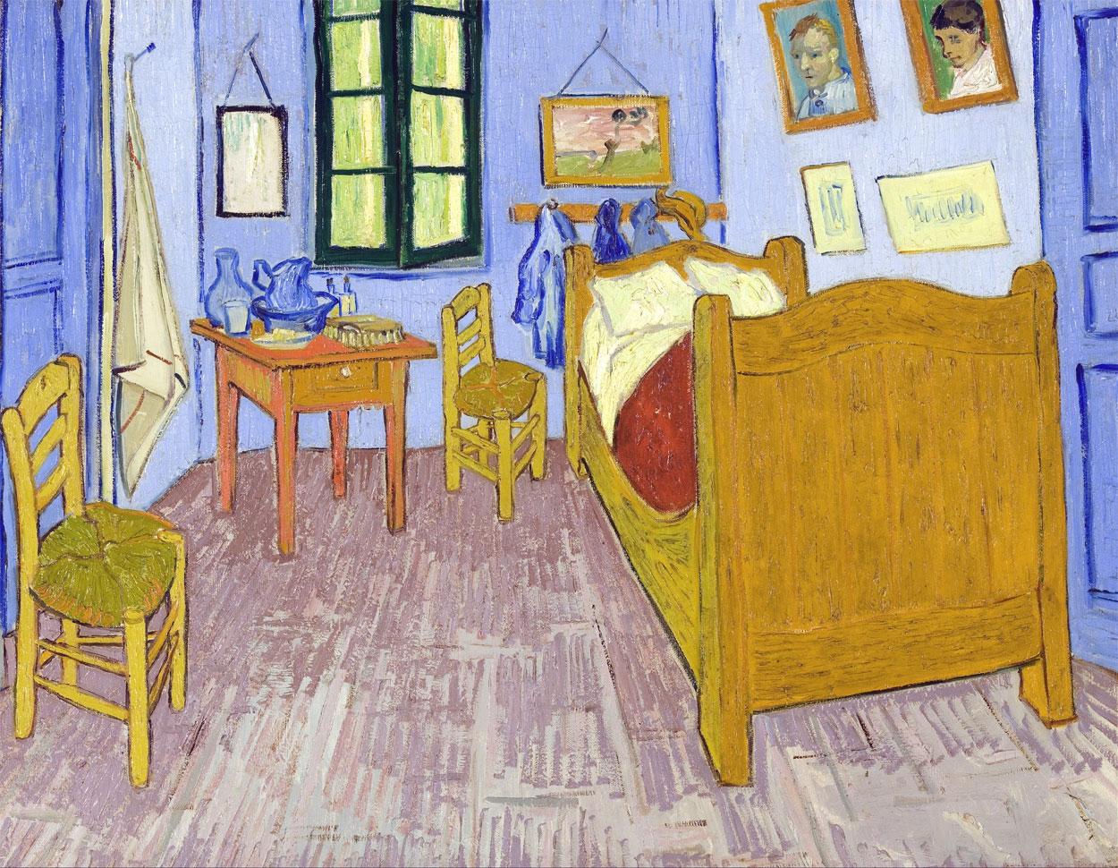 La camera da letto di Van Gogh ad Arles: opera del 1889