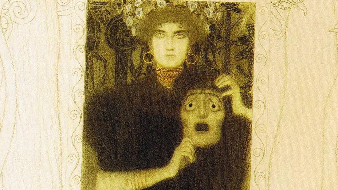 Tragedia - Gustav Klimt - detail