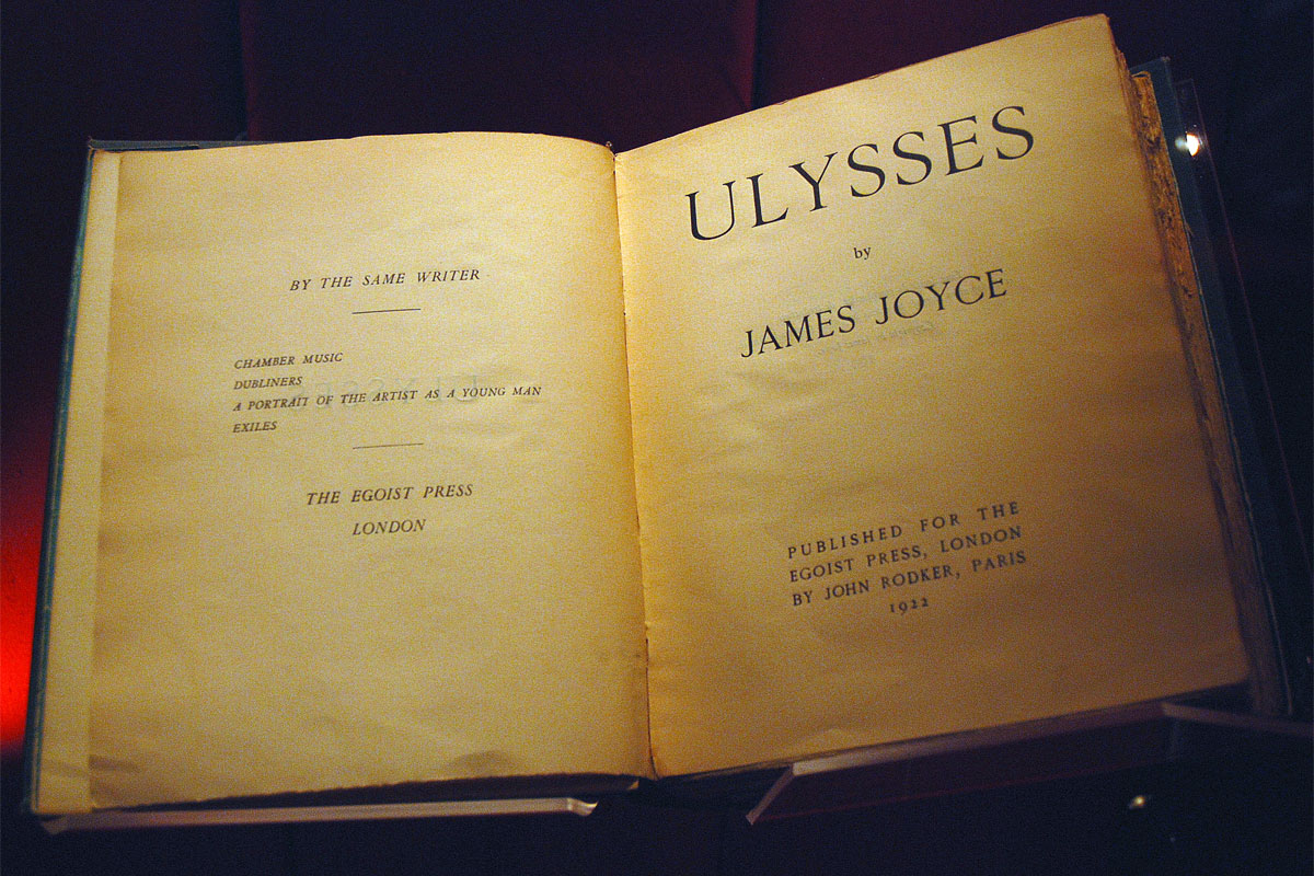 Ulisse, di James Joyce (1922)