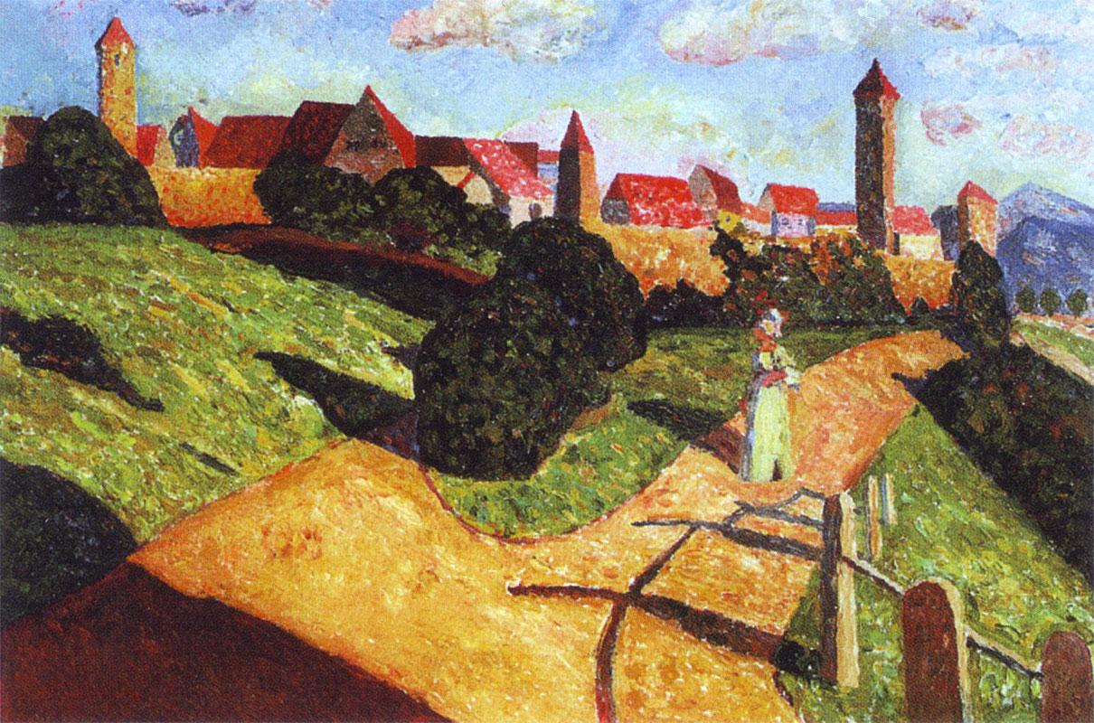 Kandisnky: Vecchia Città II (1902)