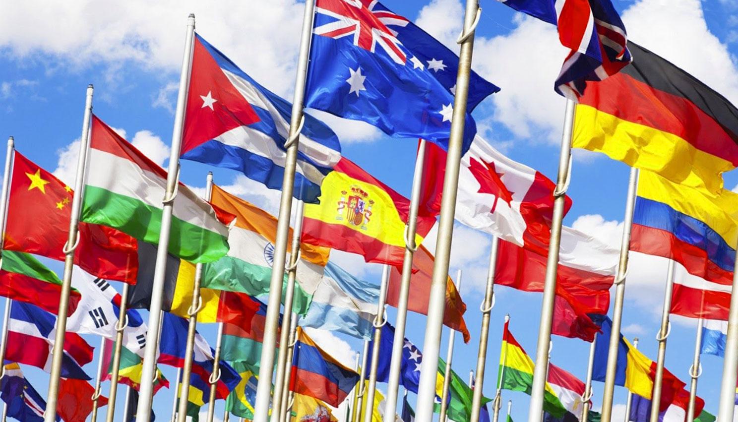 Nazioni e stati: le bandiere