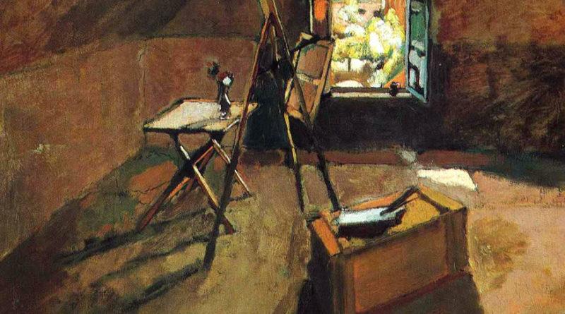Lo studio sotto i tetti - Henri Matisse (1903)