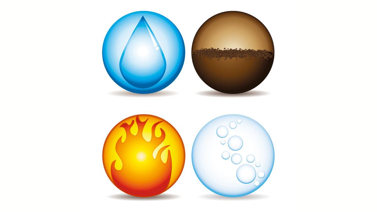 4 elementi teoria