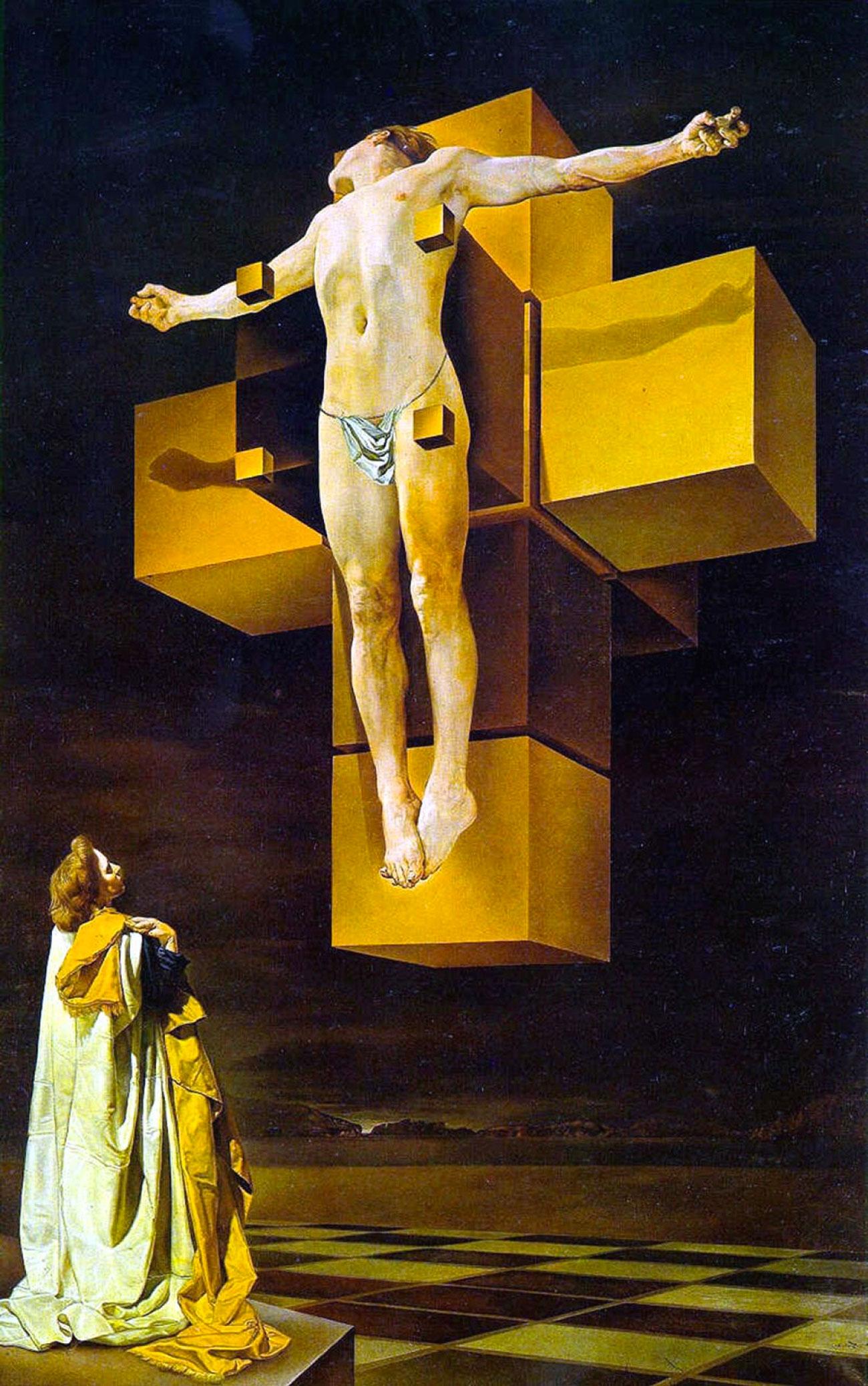 Corpus Hypercubus (1954) • Celebre opera di Salvador Dalì