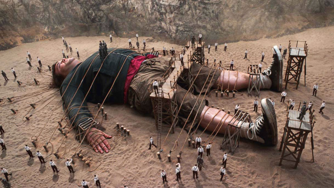 "Jack Black ha interpretato Gulliver nel 2010, nel film ""I fantastici viaggi di Gulliver"""