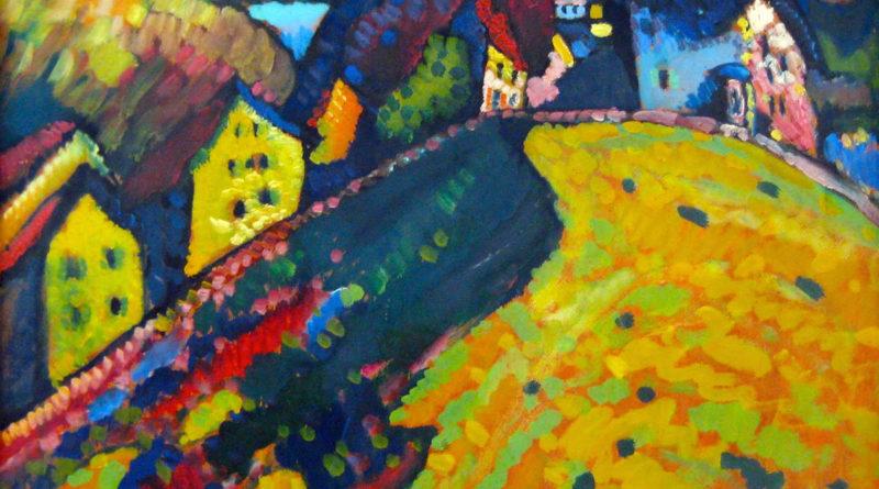 Kandinsky - Case a Murnau - Paesaggio estivo