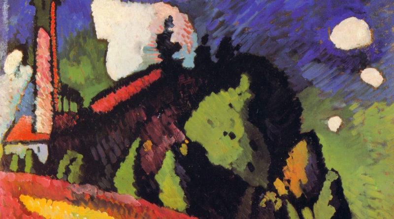 Kandinsky - Paesaggio con torre