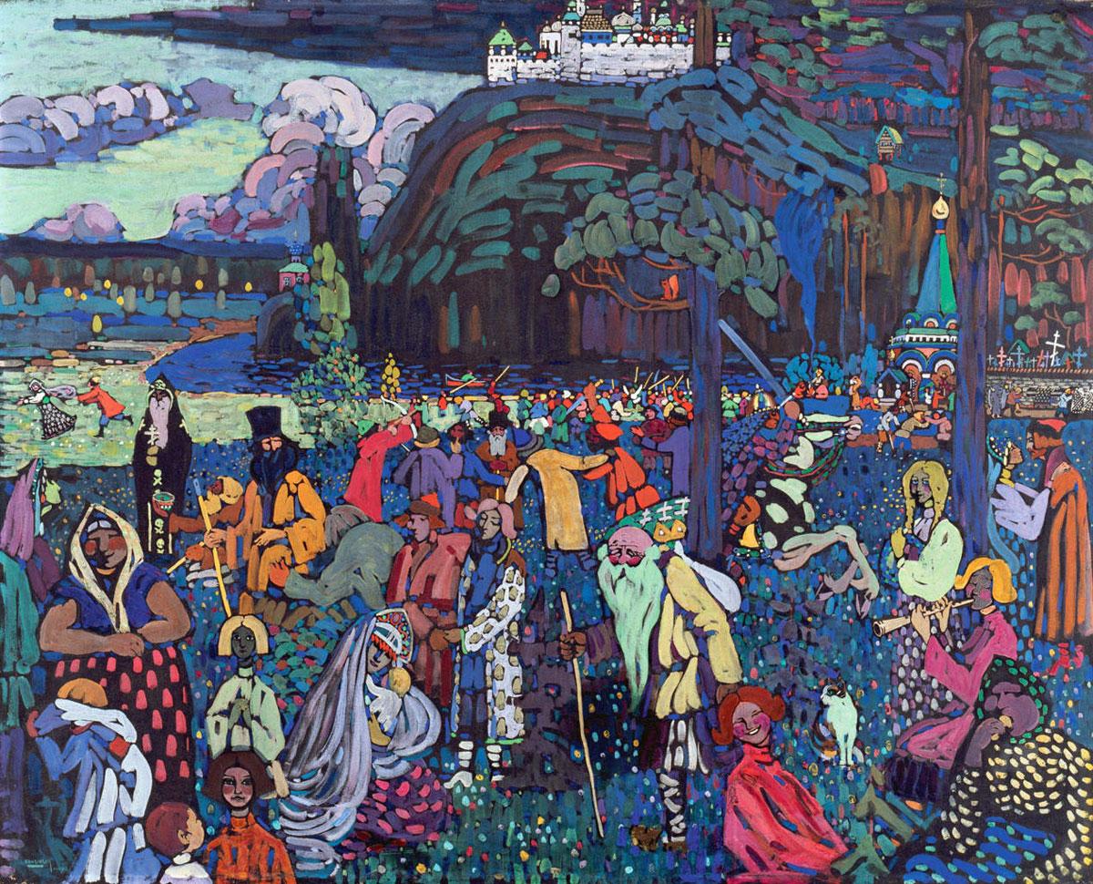 Kandinsky  (1907) - Vita variopinta - Colorful life