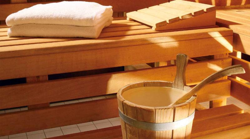 sauna di una spa