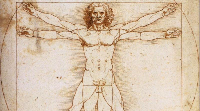 Uomo Vitruviano - Leonardo - umanesimo rinascimento