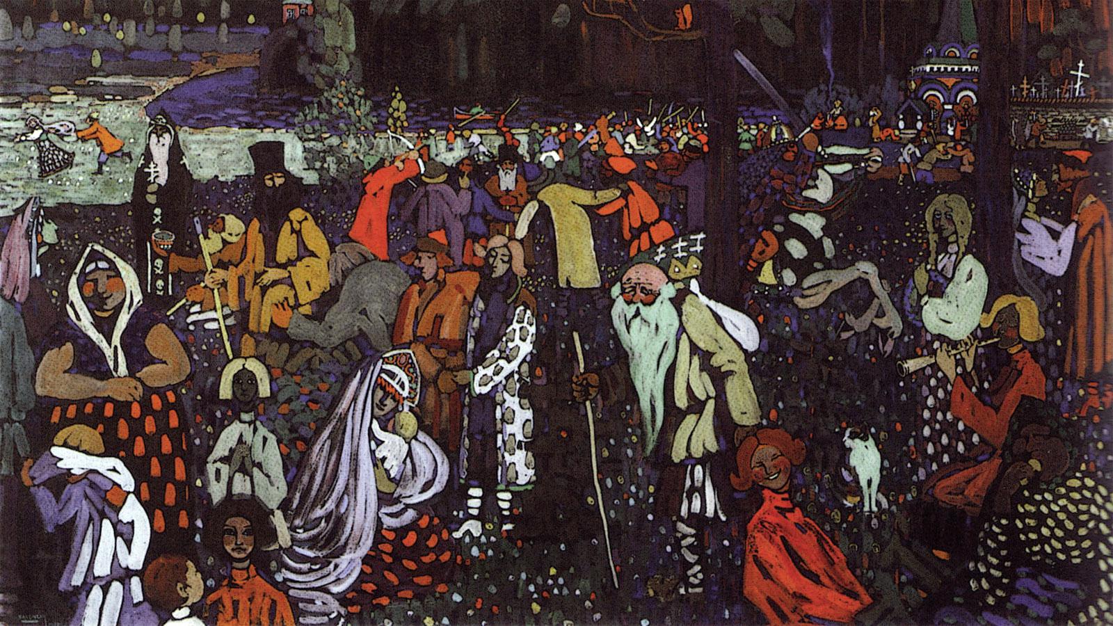 Kandinsky: Vita variopinta - dettaglio