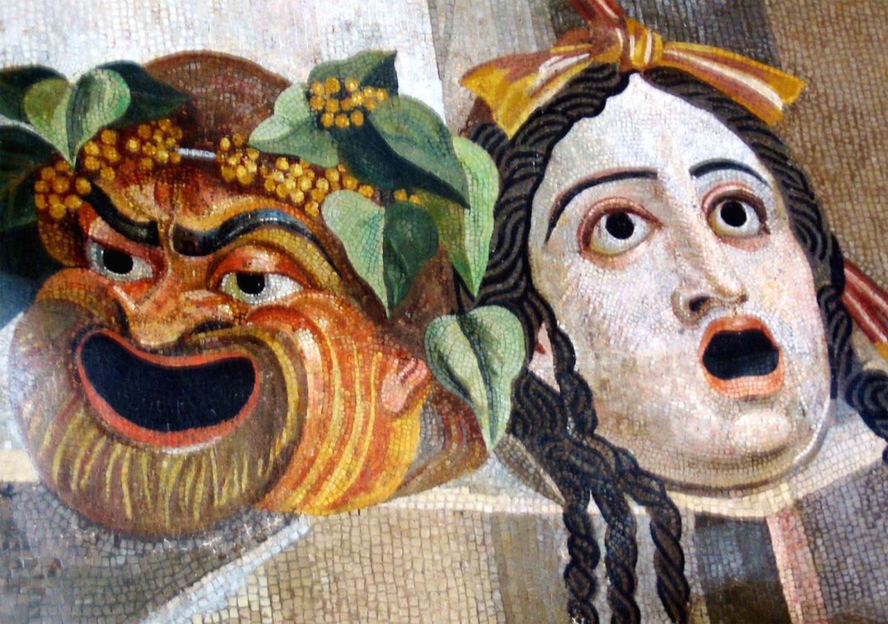Tragedia greca e coro dei satiri