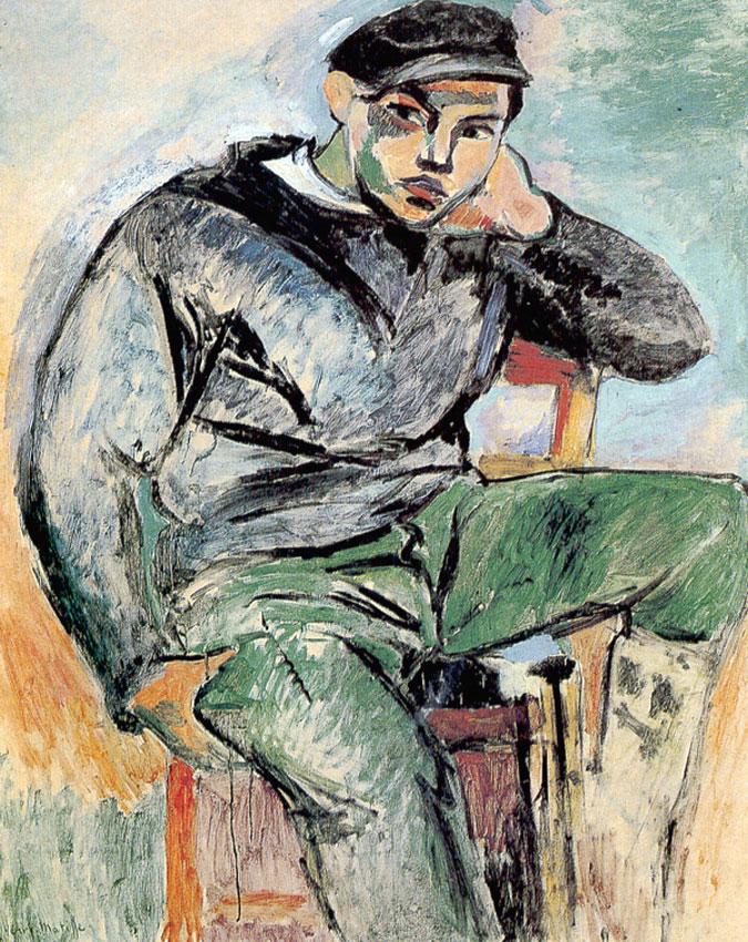 Giovane Marinaio I (Henri Matisse, 1906)