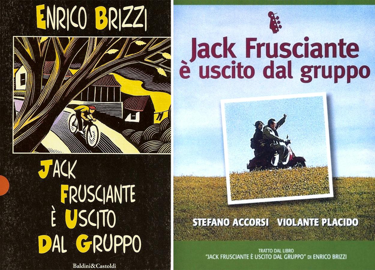 """""""Jack Frusciante è uscito dal gruppo"""" (1994) è il romanzo di esordio di Enrico Brizzi"""