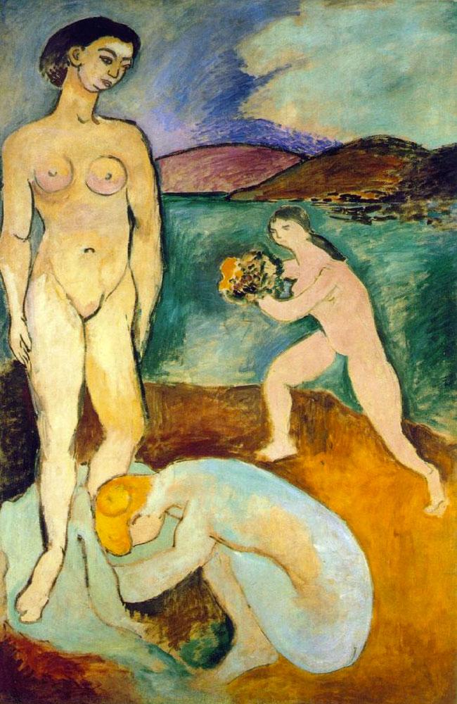 Henri Matisse, Lusso (1907, prima versione)