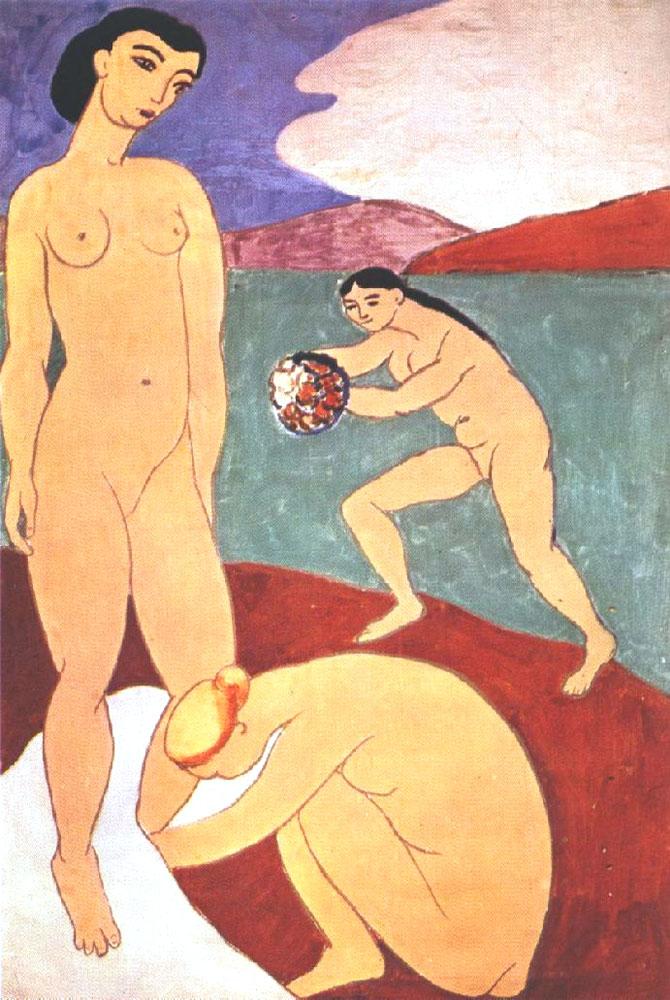 Henri Matisse, Lusso (1907, seconda versione)