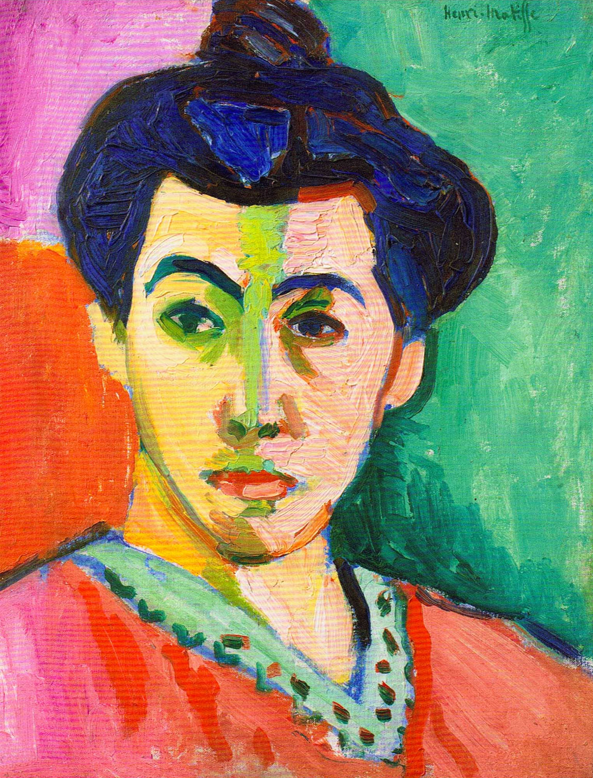 Madame Matisse (portrait)