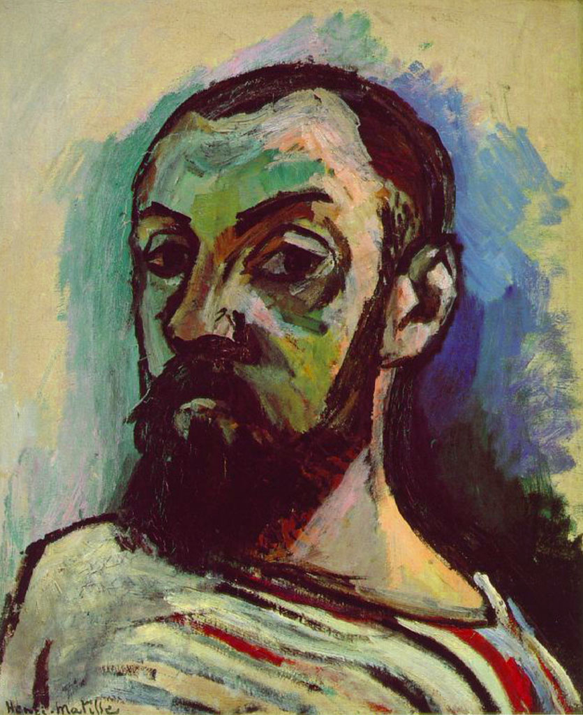 Matisse - self portrait - autoritratto - 1906