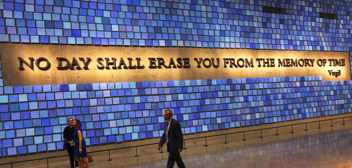 Una foto del Museo dedicato ai fatti e alle vittime dell'11 settembre 2001