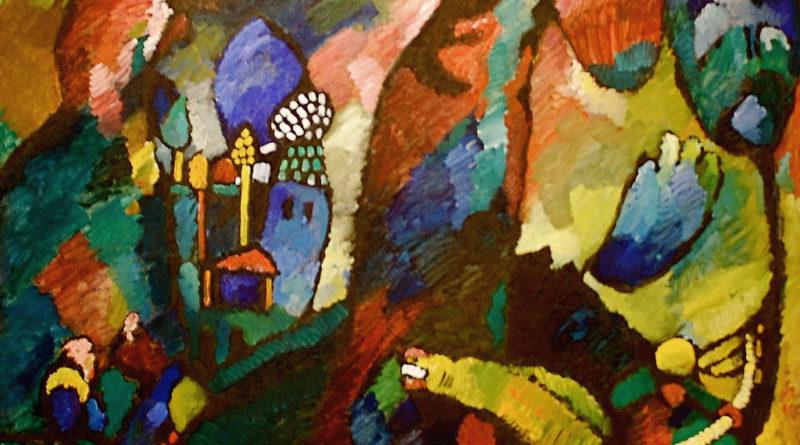 Quadro con arciere - Kandinsky