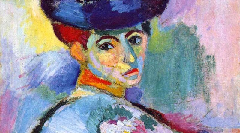Donna con cappello - Matisse - 1905