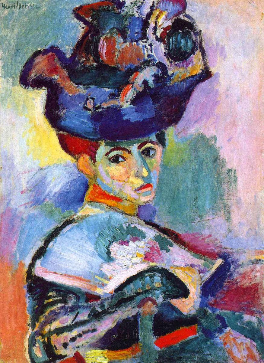 Henri Matisse: Donna con cappello (1905)
