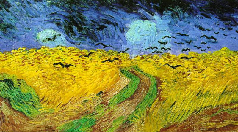 Campo di grano con volo di corvi - van Gogh