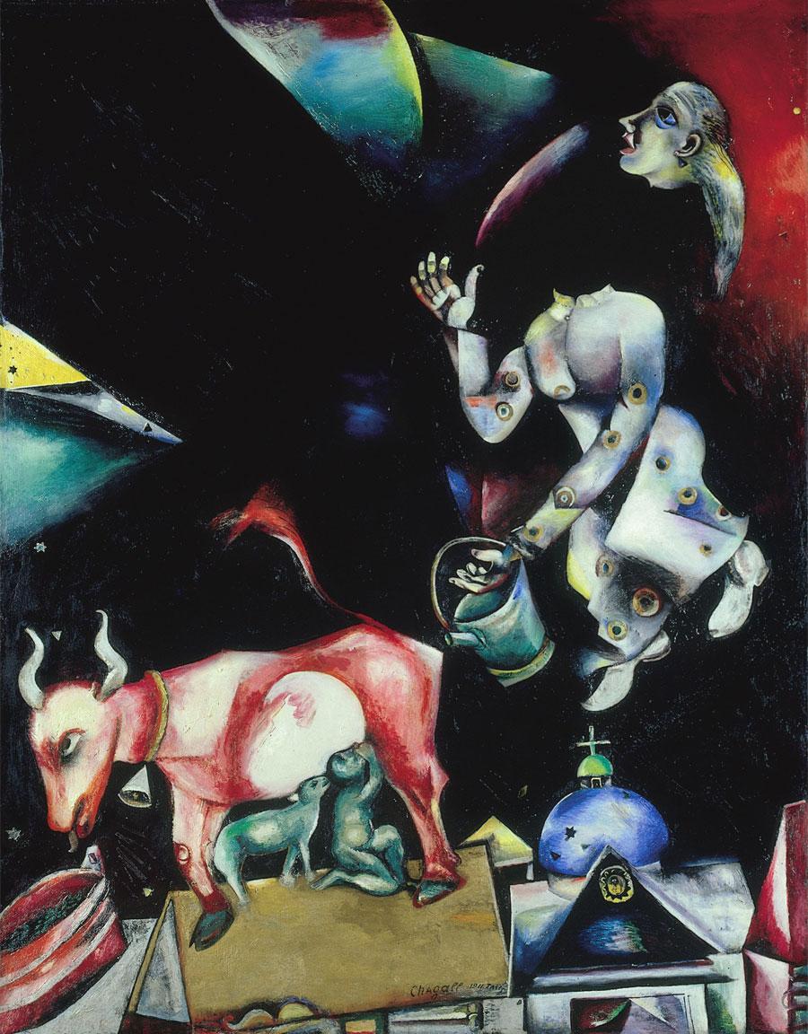 M.Chagall - Alla Russia, agli asini e agli altri - 1911-1912