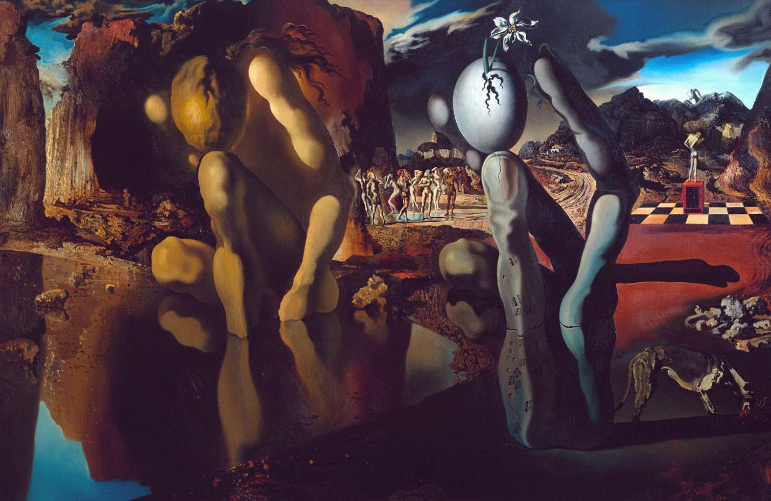 La metamorfosi di Narciso (Salvador Dalì, 1936-1937)
