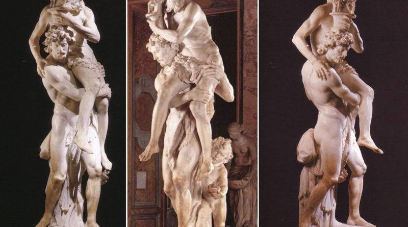 Enea, Anchise e Ascanio - Bernini - scultura