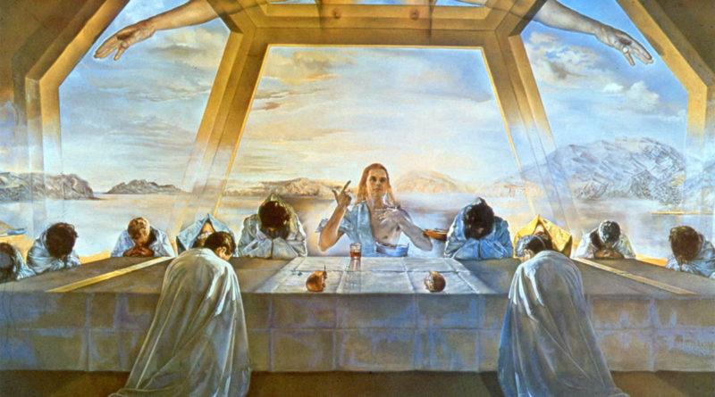 Ultima cena - Salvador Dalì
