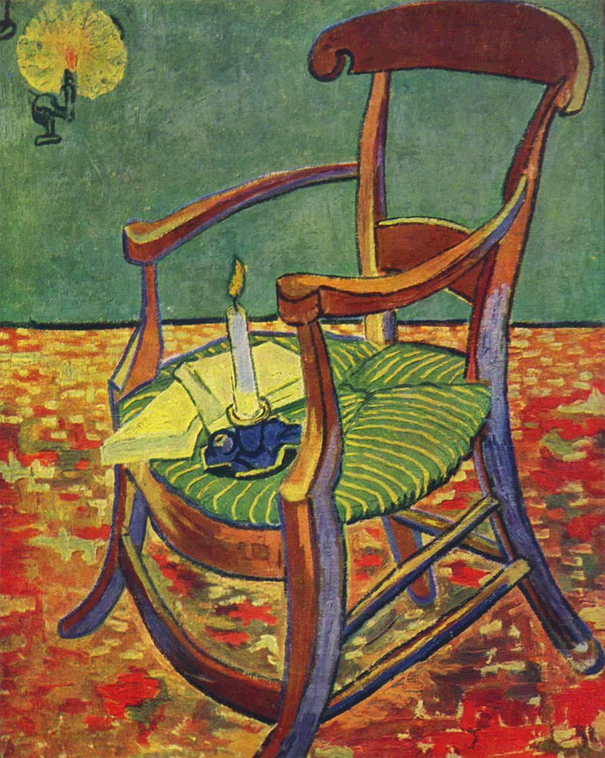Van Gogh - La sedia di Gauguin (Gauguin's chair)