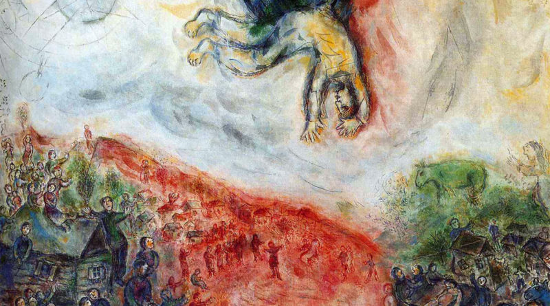 Chagall - Caduta di Icaro
