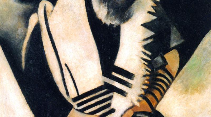 Chagall - Ebreo in preghiera
